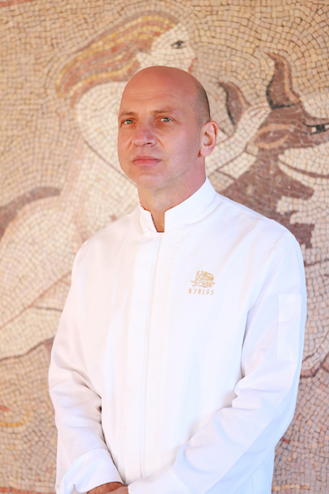 Nicola Canuti Chef Exécutif Byblos Saint-Tropez