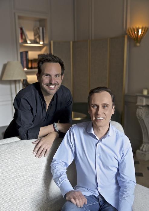 Nicolas Cloiseau et Christophe Michalak