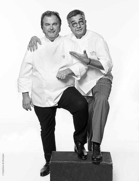 Pierre Hermé et Frédéric Bau