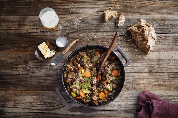 recette de Ragoût de bœuf au paprika et à la bière