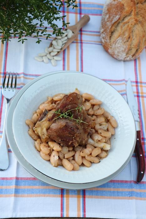 recette de Souris d'agneau au thym et au miel