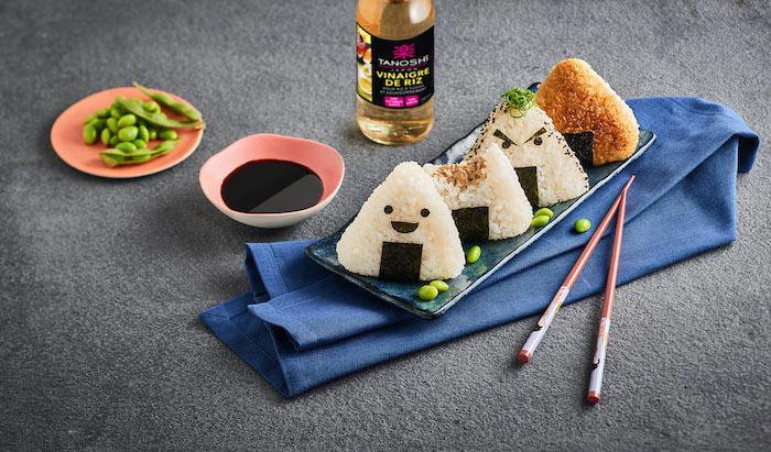 recette d'Onigiri au thon-mayonnaise et au wasabi