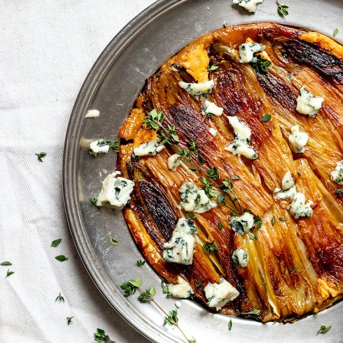 recette de Tatin d'endives au fromage
