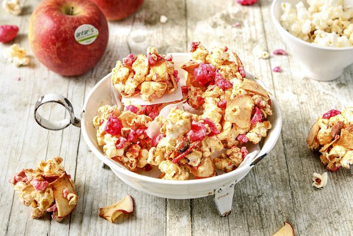 recette de Bouchées croustillantes aux pommes