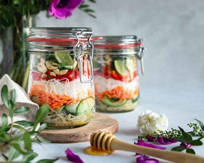 recette de Salade de vermicelles à la manière thaï