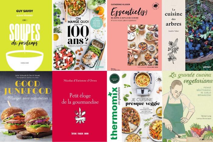 les livres de cuisine de mars 2021