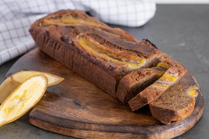 Banana bread à la farine de manioc