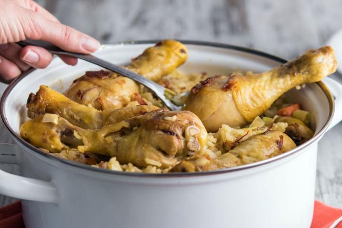 Paëlla au poulet et au chorizo