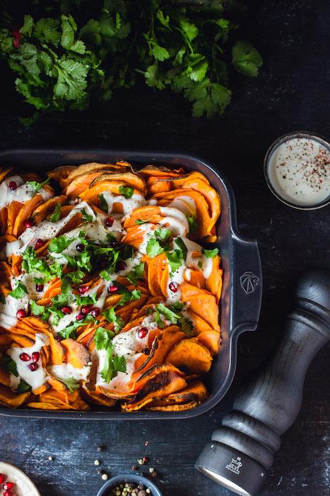 recette de Gratin de patates douces