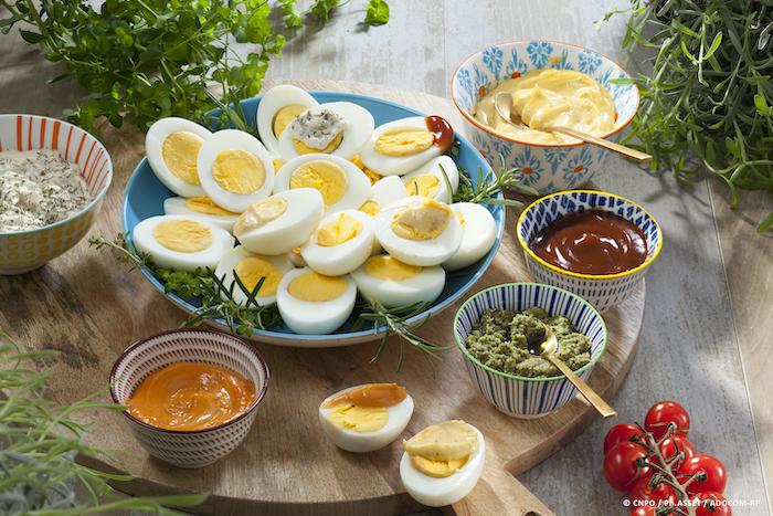 Les sauces pour accompagner les œufs durs