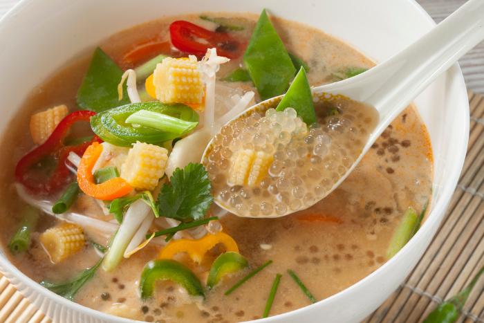 Soupe thaï de perles Japon