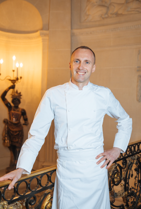 Giuliano Sperandino nouveau chef du Taillevent
