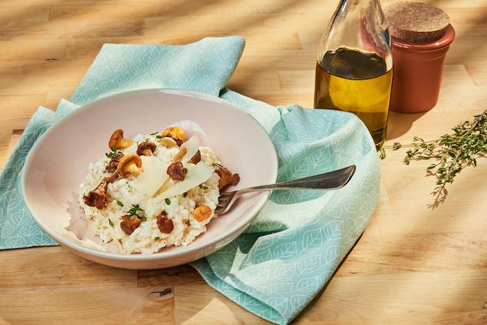 la recette du véritable risotto italien