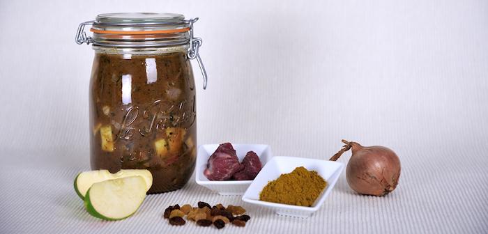 recette d'Agneau au curry