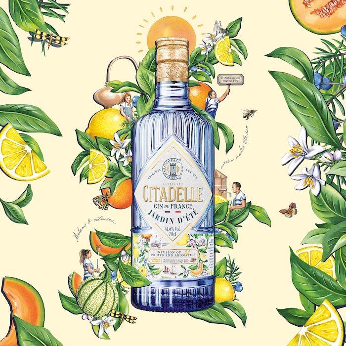 nouveau gin artisanal Citadelle