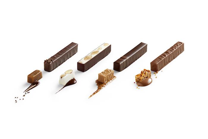 Les barres snacking de La Maison du Chocolat