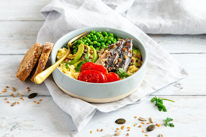 recette de Poke bowl de sardines,