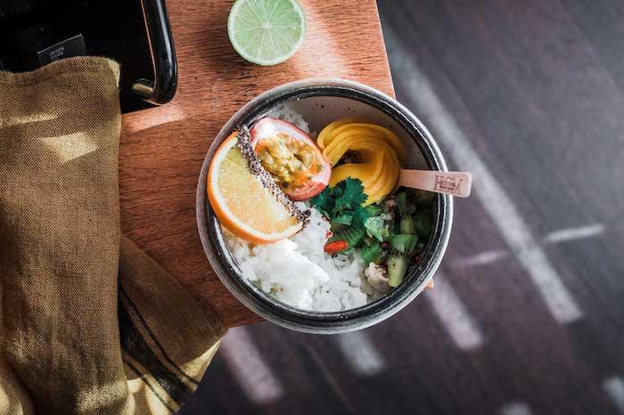 recette de Tartare d'huîtres et de mangue
