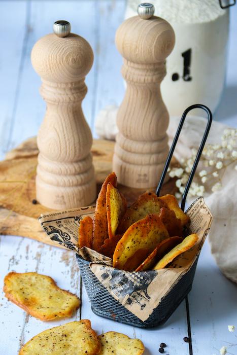 recette de Tuiles au poivre faciles