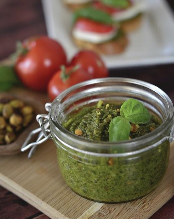 recette de Pesto de pistaches