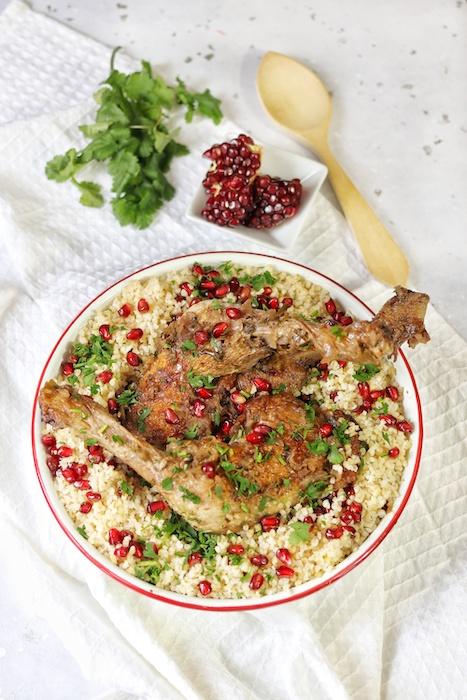 recette de Cuisses de poulet fermier à la libanaise