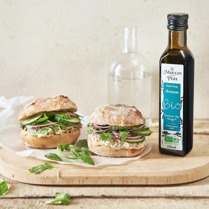 recette de Sandwichs thon-mayonnaise