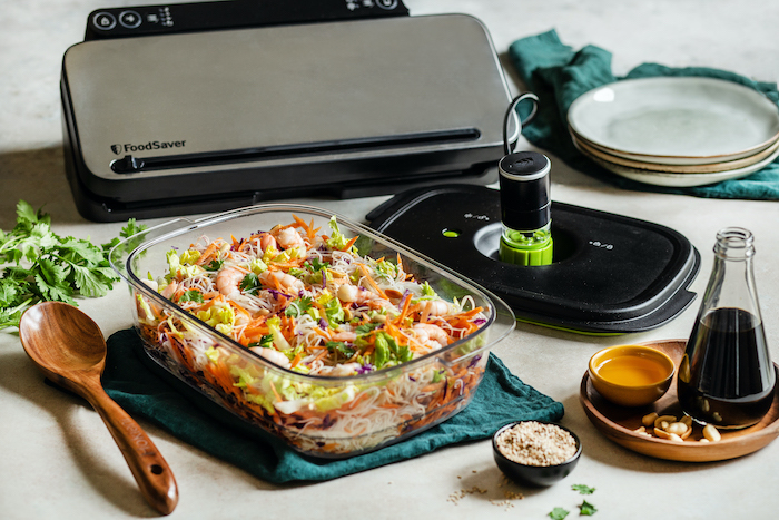 recette de Salade vietnamienne aux crevettes