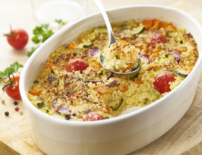 recette de Gratin végétarien de Tendres Perles