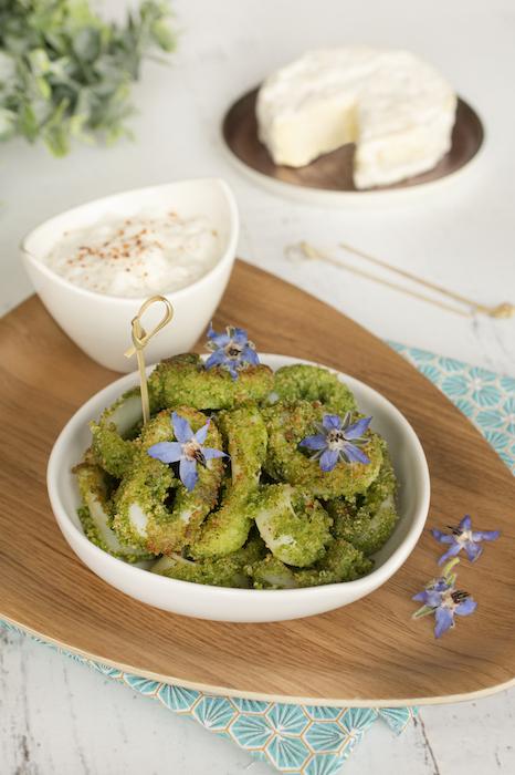 recette de Calamars en croûte d'herbes