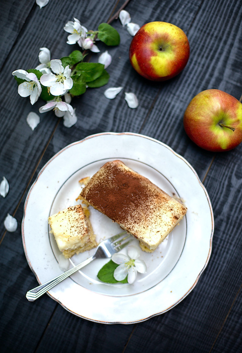 Tiramisu croustillant aux pommes