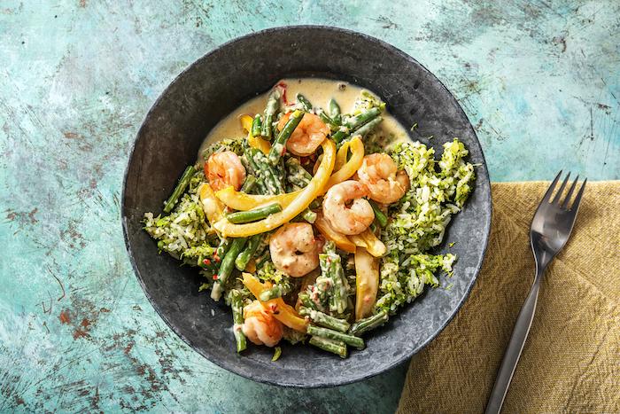 recette de Curry aux crevettes