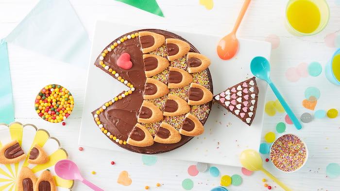 recette de Gâteau poisson au chocolat