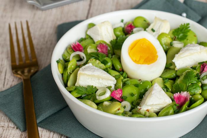 Salade de printemps au Rocamadour