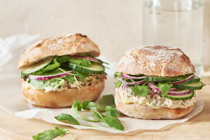 Sandwichs thon-mayonnaise