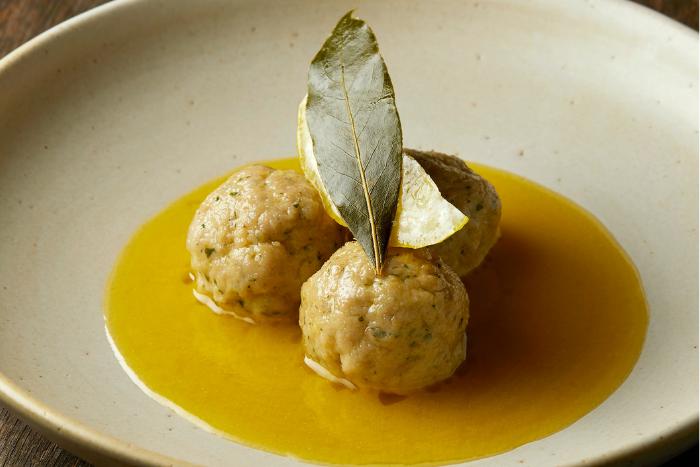 Boulettes de veau au citron