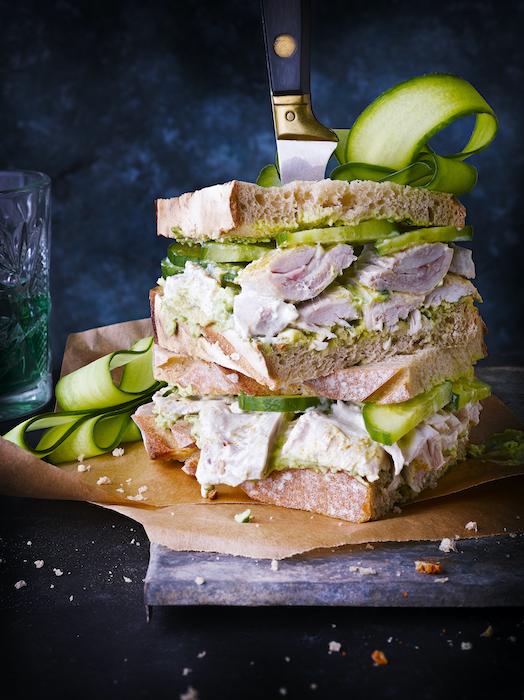 Big Green Sandwich de lapin