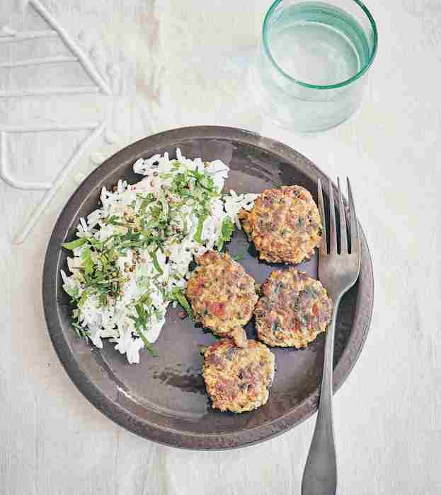 recette de Boulettes d'agneau et poivron