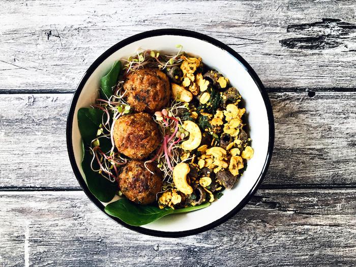 recette de Bowl vitalité au granola