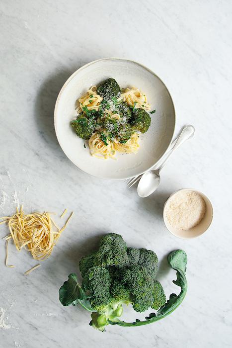 recette de Pasta fraîches au brocoli