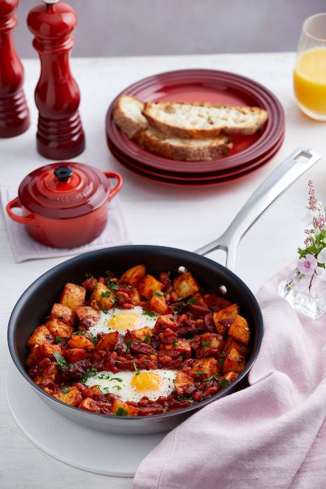 recette de Chorizo et hachis de pommes de terre