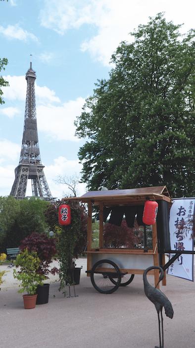 Hanami Trocadéro terrasse éphémère