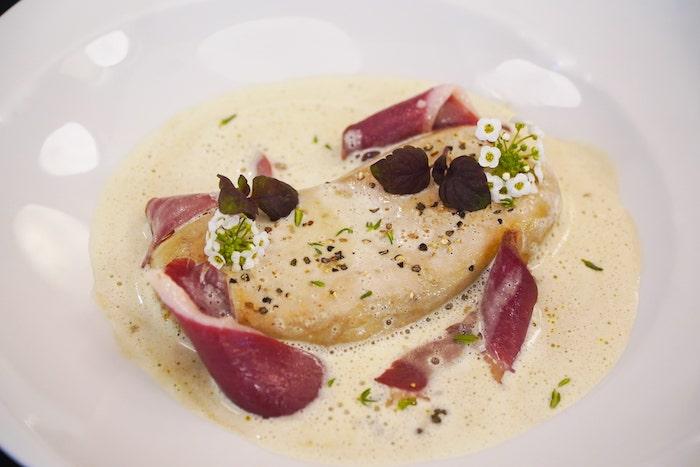 recette de Foie gras à la crème de lentilles