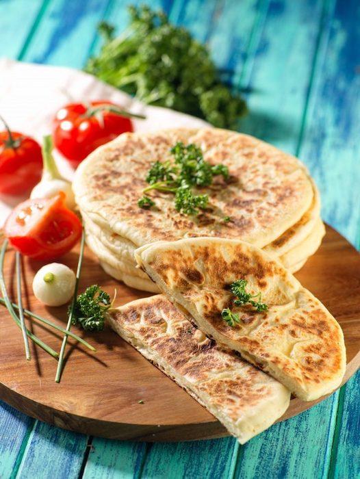 recette de Naans au fromage