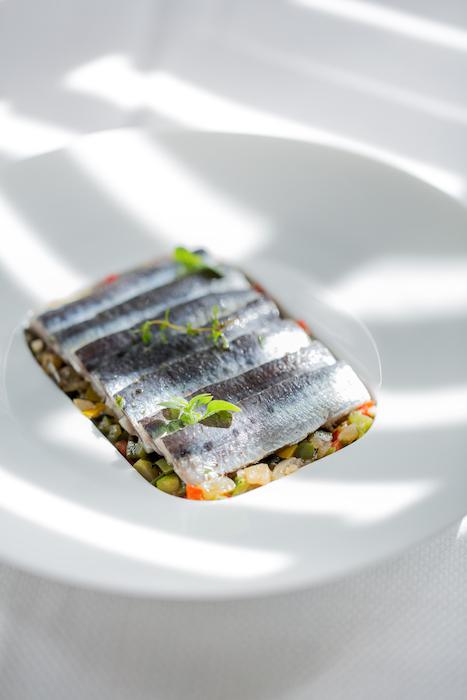 Marinade de filets de sardines fraiches