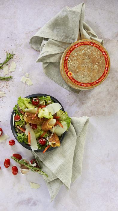recette de Salade césar à l'Ossau-Iraty