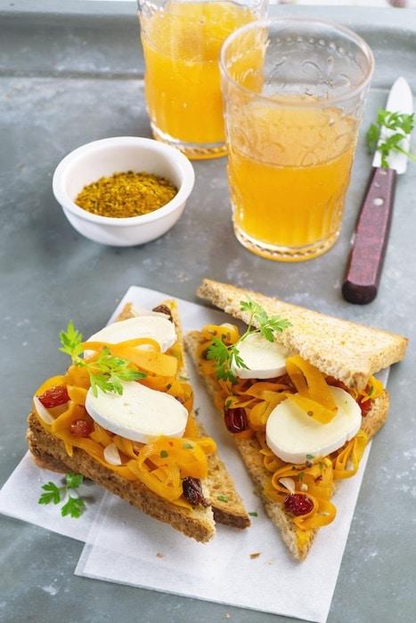 Sandwich oriental aux carottes