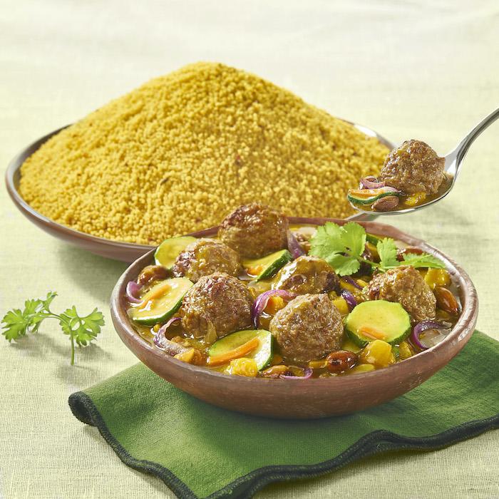 recette de Tajine de keftas de boeuf