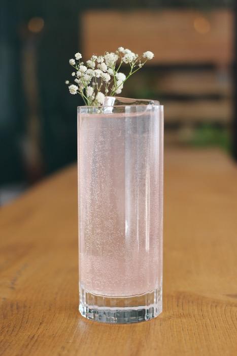 cocktail eau-de-vie de mirabelle