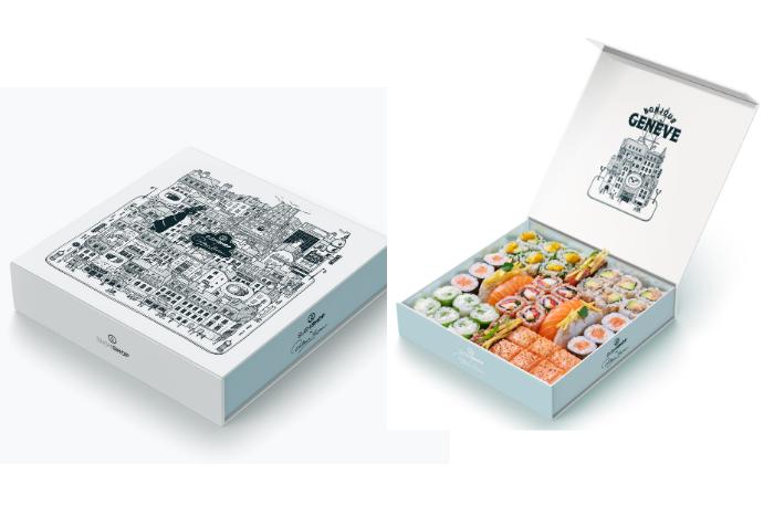 box Sushi Shop et Docteur Paper