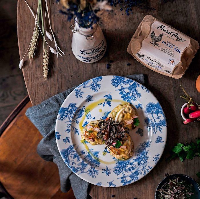 la recette de L'Oeuf mayonnaise de Loïc Lobet